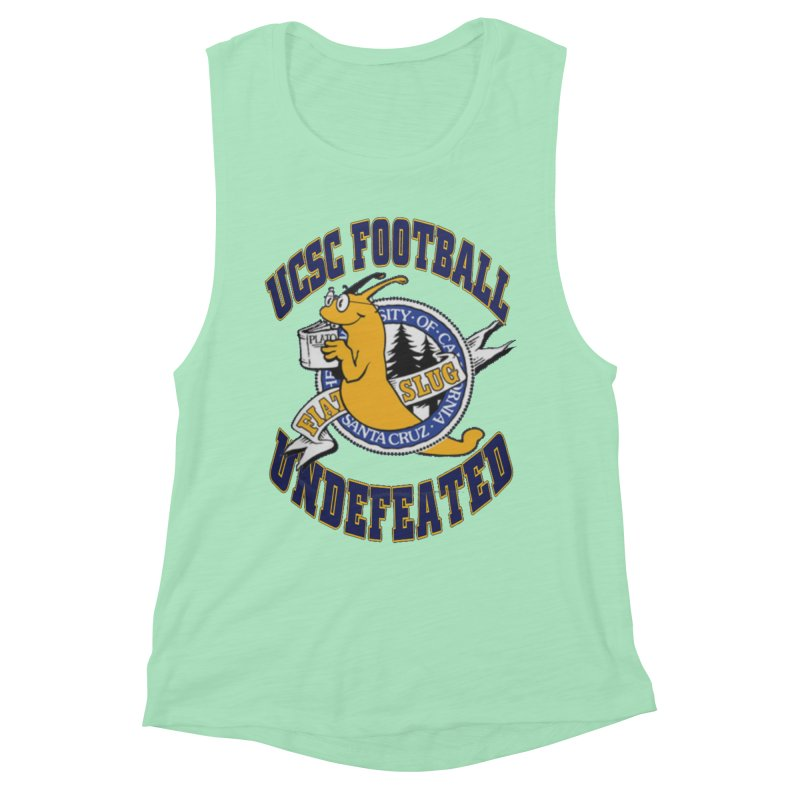 UCSC Slug Football Women's Muscle Tank by UCSCfootball's Artist Shop
