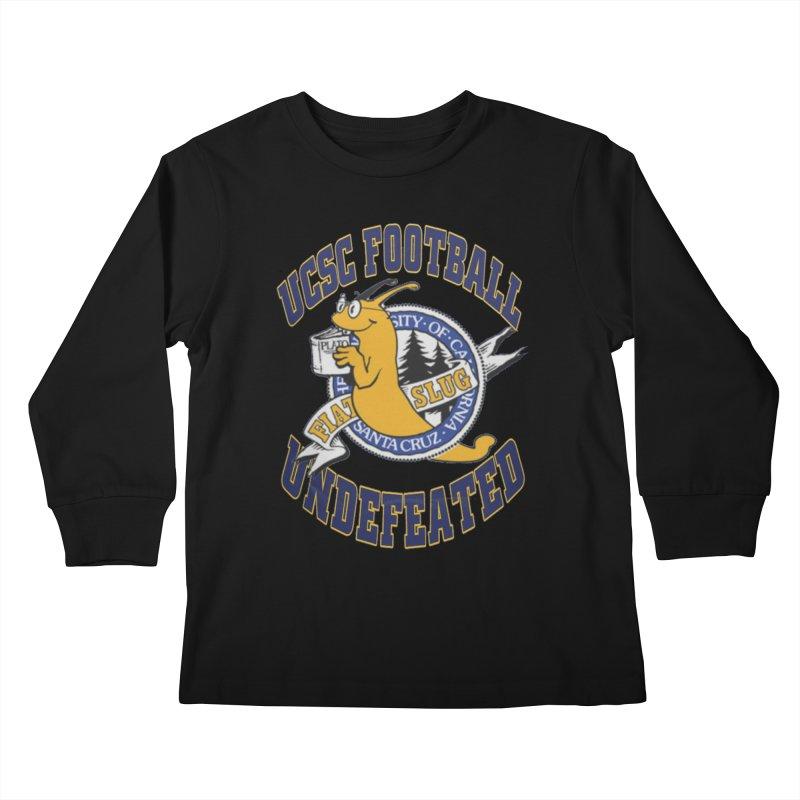 UCSC Slug Football Kids Longsleeve T-Shirt by UCSCfootball's Artist Shop