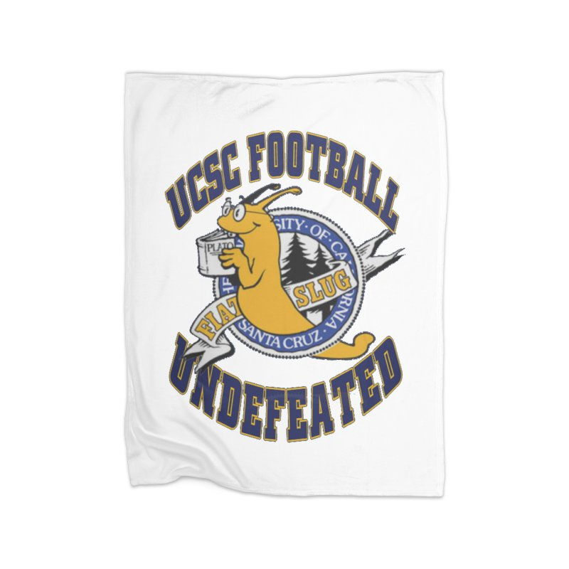 UCSC Slug Football Home Blanket by UCSCfootball's Artist Shop