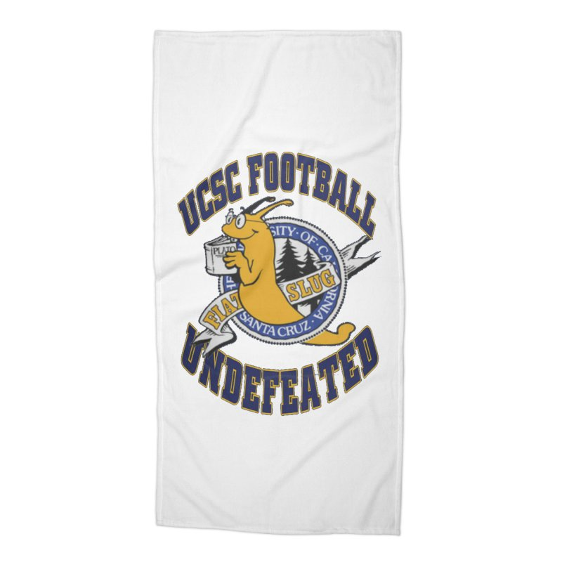 UCSC Slug Football Accessories Beach Towel by UCSCfootball's Artist Shop