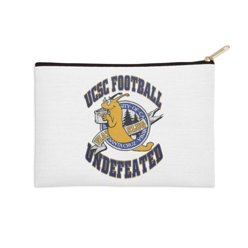 UCSC Slug Football Accessories Zip Pouch by UCSCfootball's Artist Shop