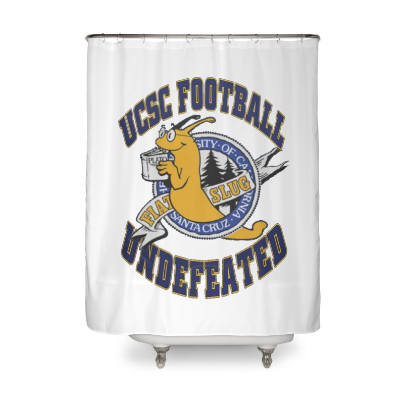UCSC Slug Football Home Shower Curtain by UCSCfootball's Artist Shop