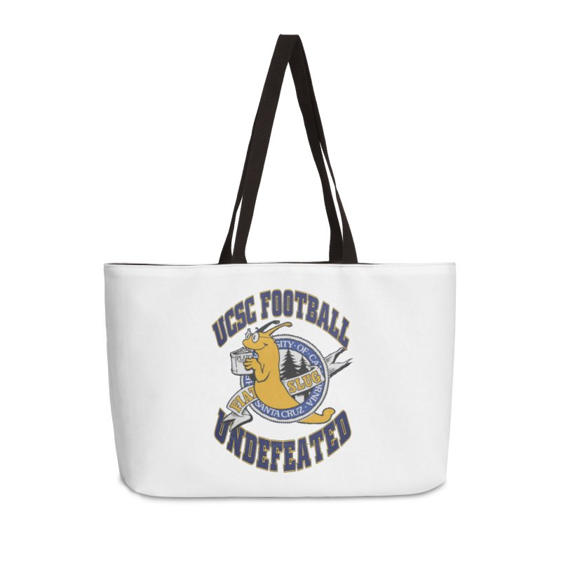 UCSC Slug Football Accessories Weekender Bag Bag by UCSCfootball's Artist Shop