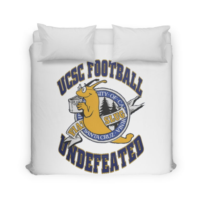 UCSC Slug Football Home Duvet by UCSCfootball's Artist Shop