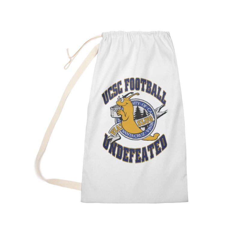 UCSC Slug Football Accessories Laundry Bag Bag by UCSCfootball's Artist Shop