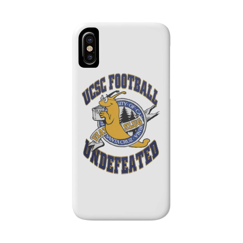 UCSC Slug Football Accessories Phone Case by UCSCfootball's Artist Shop