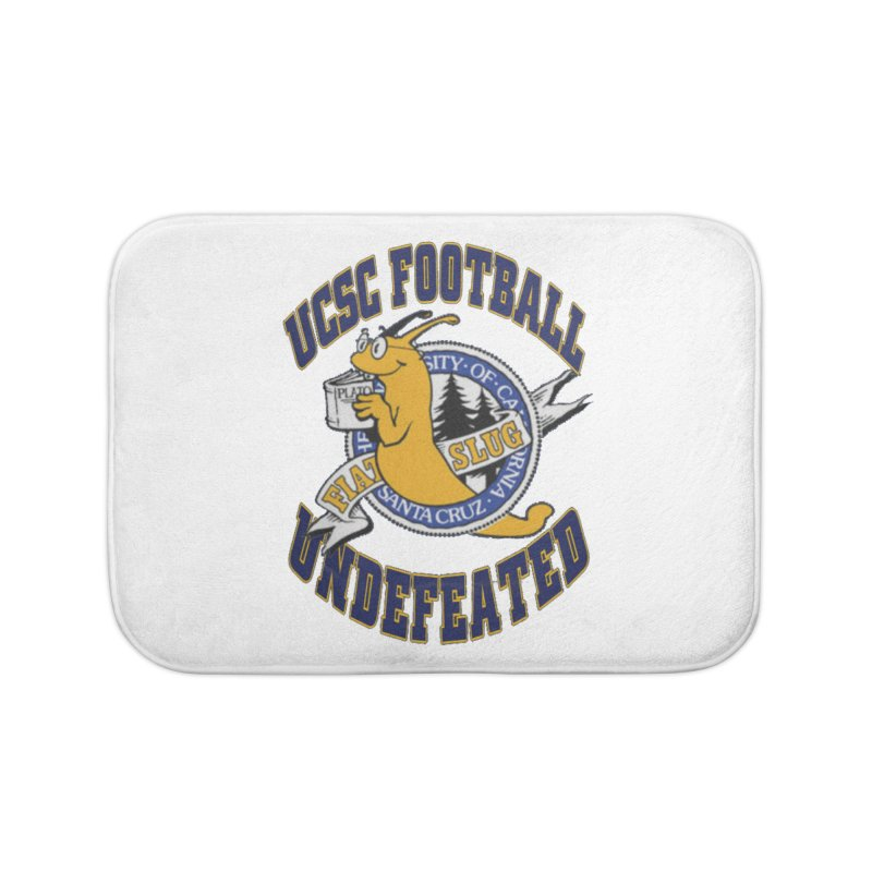 UCSC Slug Football Home Bath Mat by UCSCfootball's Artist Shop