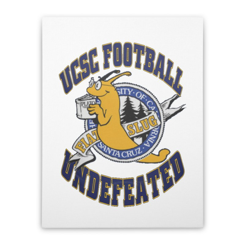 UCSC Slug Football Home Stretched Canvas by UCSCfootball's Artist Shop