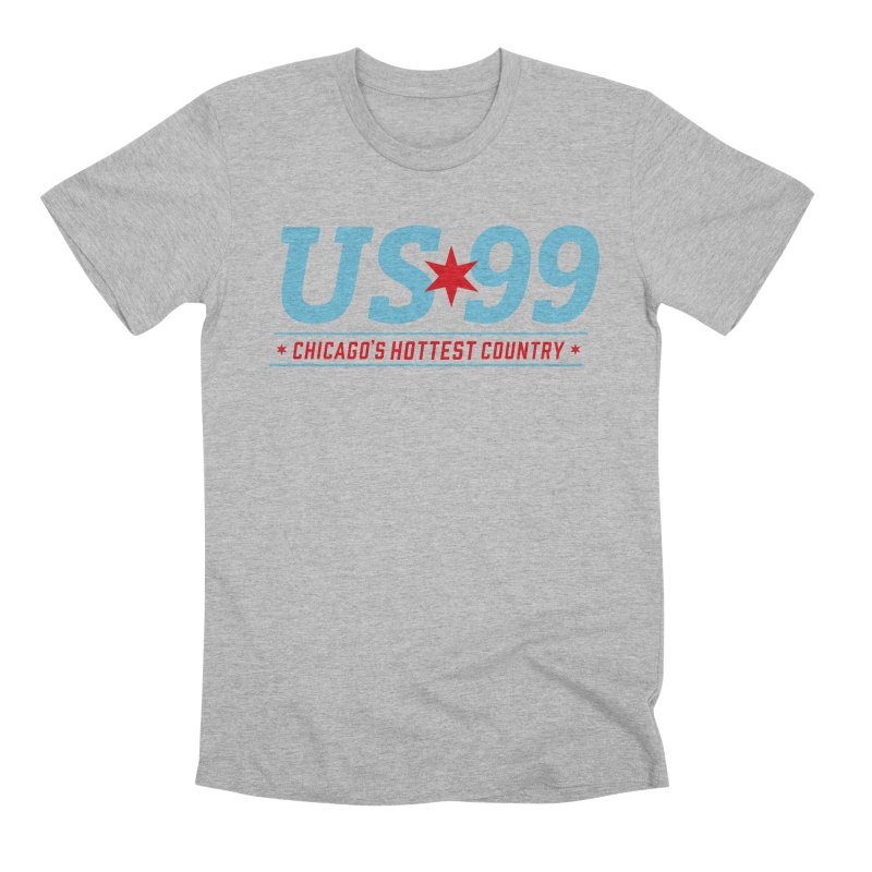 US99 Logo Men's T-Shirt by US99's Artist Shop