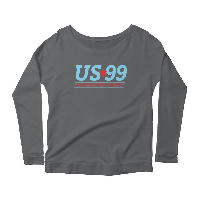 US99 Logo Women's Longsleeve T-Shirt by US99's Artist Shop