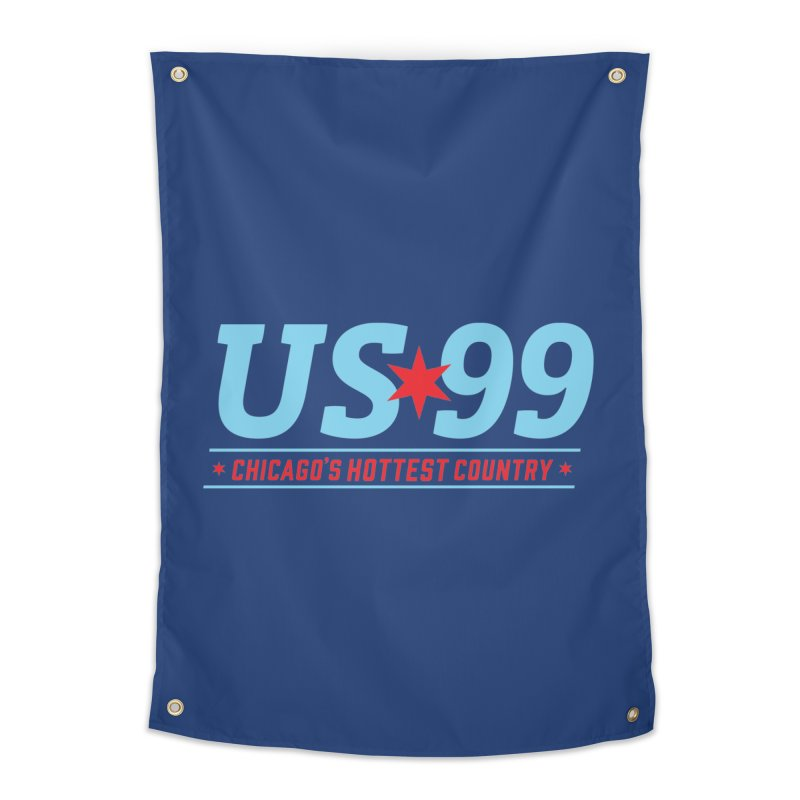 US99 Logo Home Tapestry by US99's Artist Shop