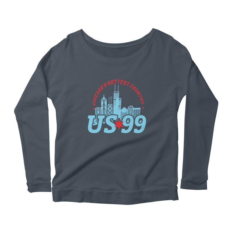US99 Skyline Women's Longsleeve T-Shirt by US99's Artist Shop