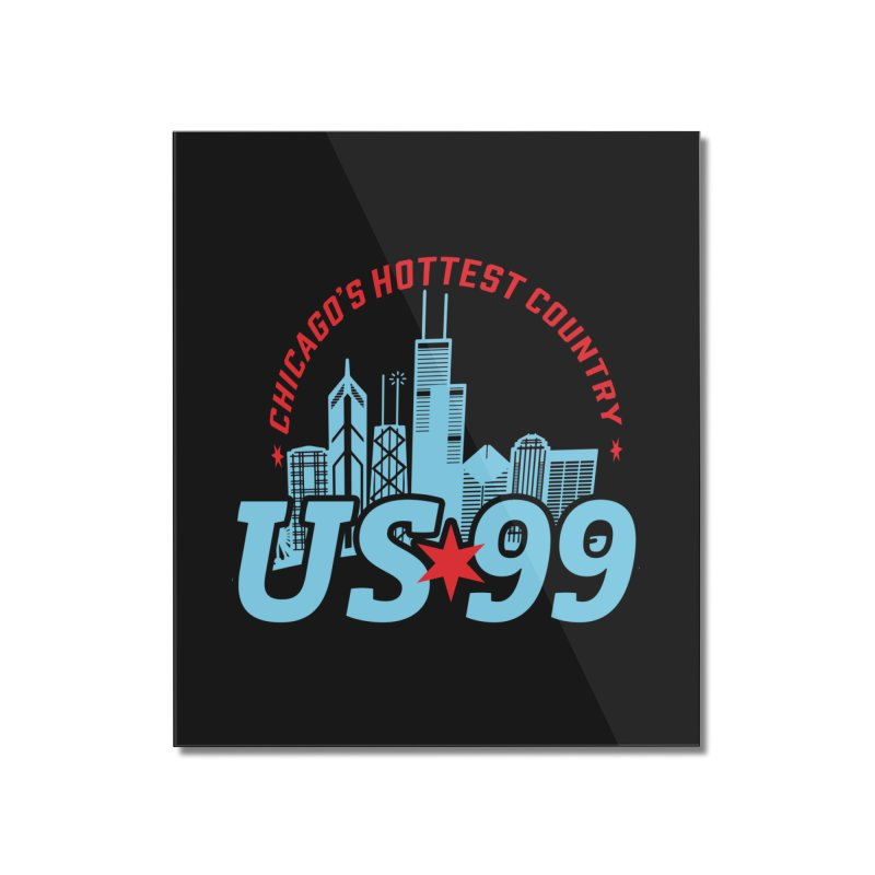 US99 Skyline Home Mounted Acrylic Print by US99's Artist Shop