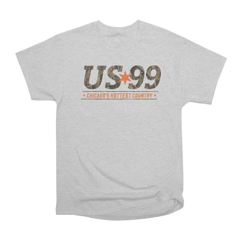 US99 Camo Men's T-Shirt by US99's Artist Shop