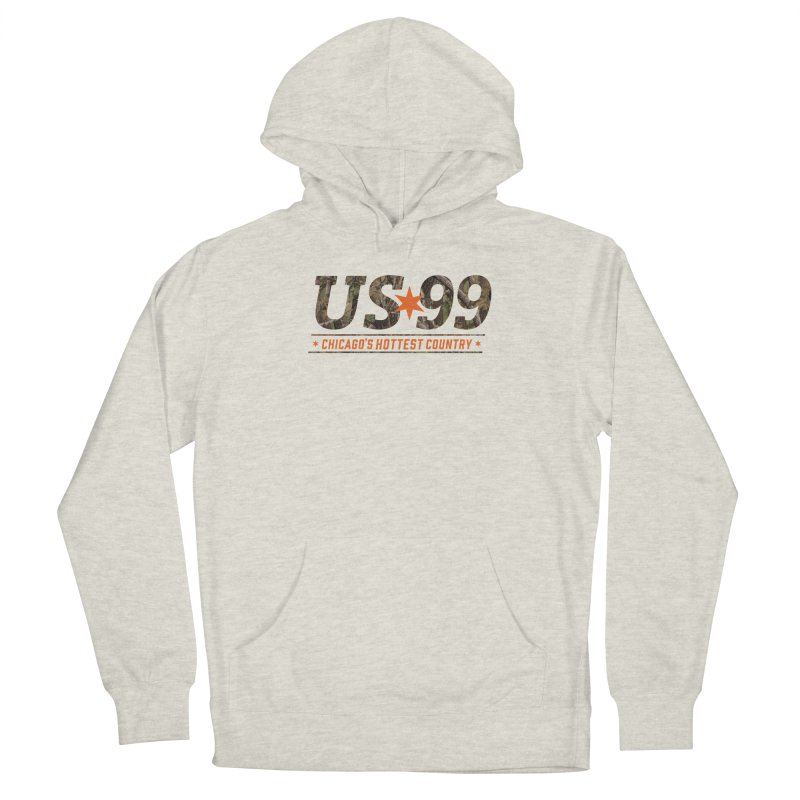 US99 Camo Women's Pullover Hoody by US99's Artist Shop