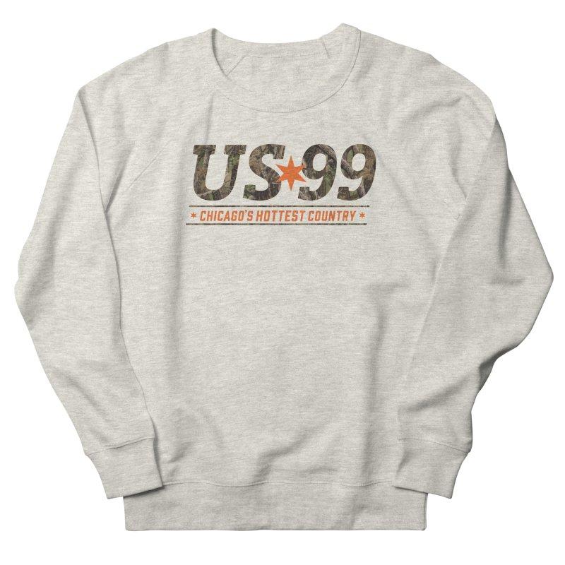 US99 Camo Men's Sweatshirt by US99's Artist Shop
