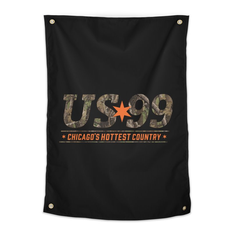 US99 Camo Home Tapestry by US99's Artist Shop