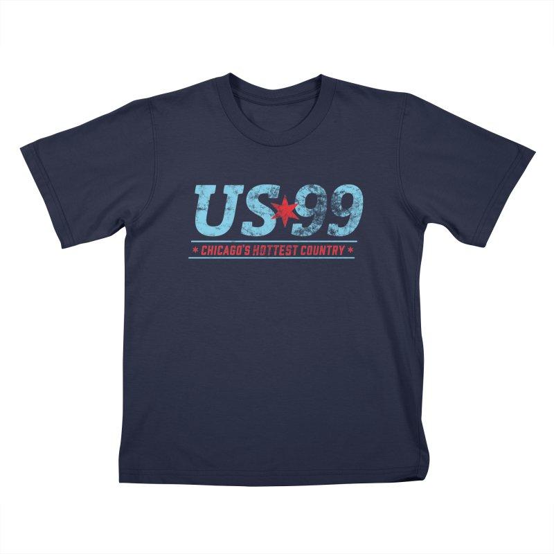 US99 Stamp Kids T-Shirt by US99's Artist Shop