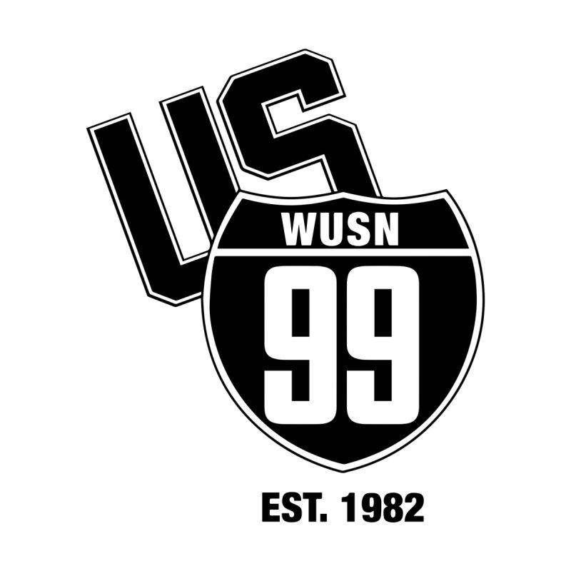 US99 classic design Black Women's T-Shirt by US99's Artist Shop
