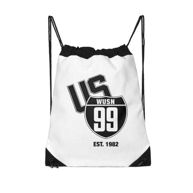 US99 classic design Black Accessories Bag by US99's Artist Shop