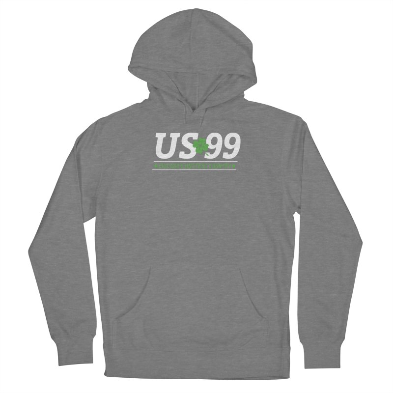 US99 Saint Patrick's Day Women's Pullover Hoody by US99's Artist Shop