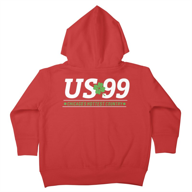 US99 Saint Patrick's Day Kids Toddler Zip-Up Hoody by US99's Artist Shop
