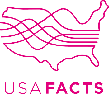 USAFacts's Artist Shop Logo