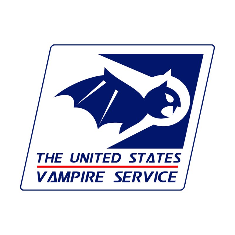 USVS Logo Men's T-Shirt by The United States Vampire Service Shop