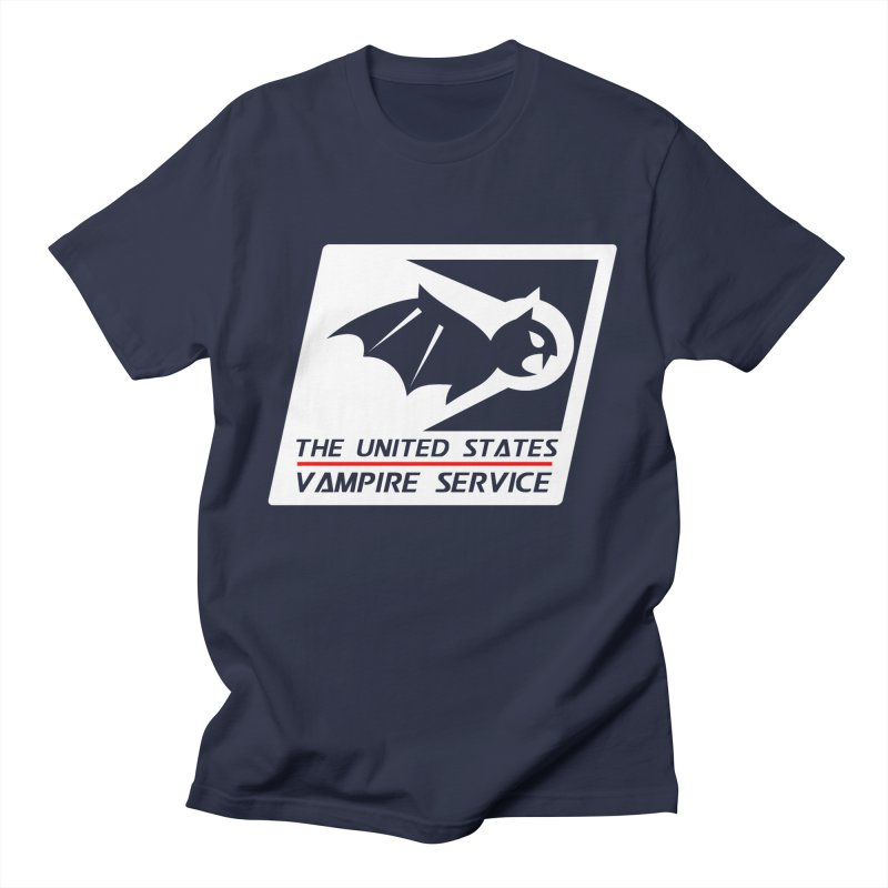 USVS Logo Men's T-Shirt by The United States Vampire Service Shop