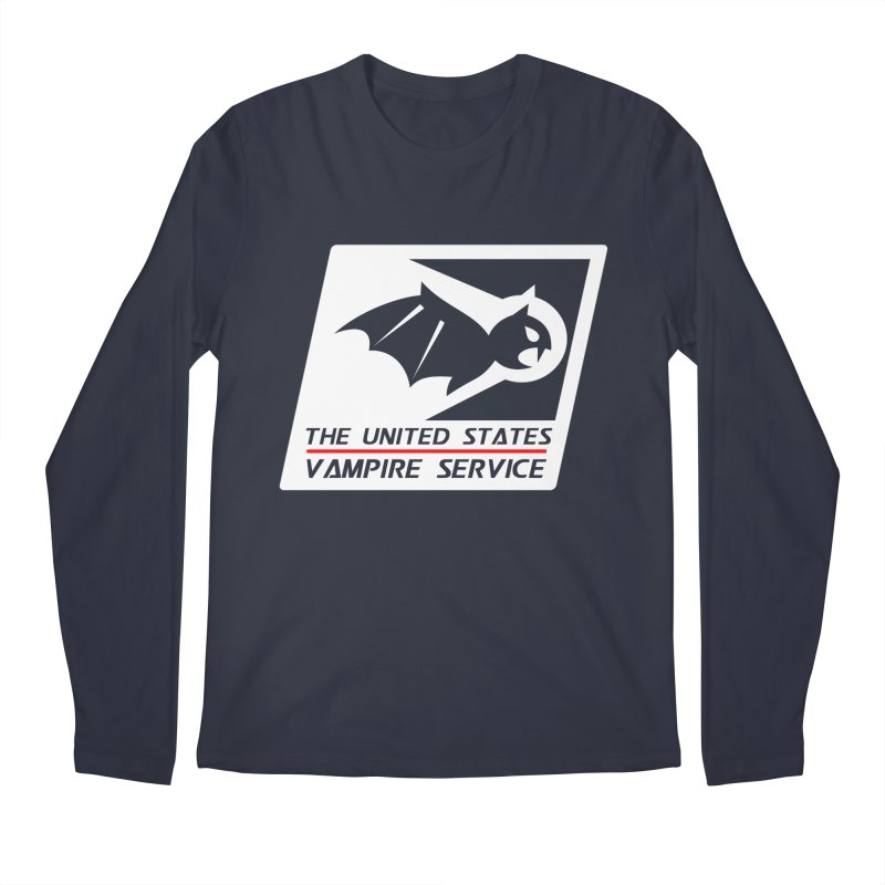 USVS Logo Men's Regular Longsleeve T-Shirt by The United States Vampire Service Shop