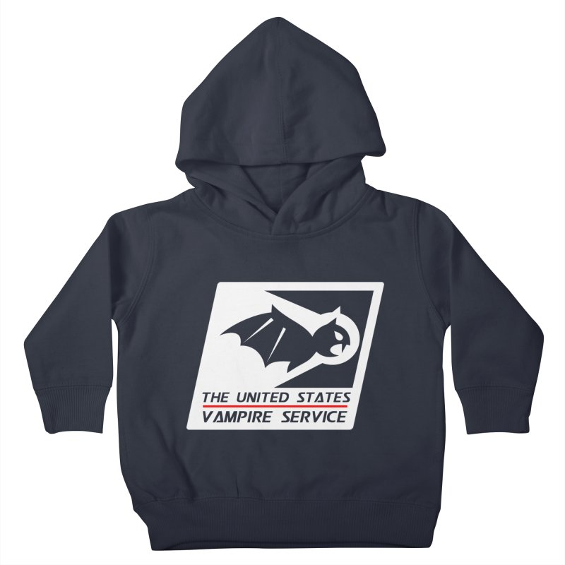 USVS Logo Kids Toddler Pullover Hoody by The United States Vampire Service Shop