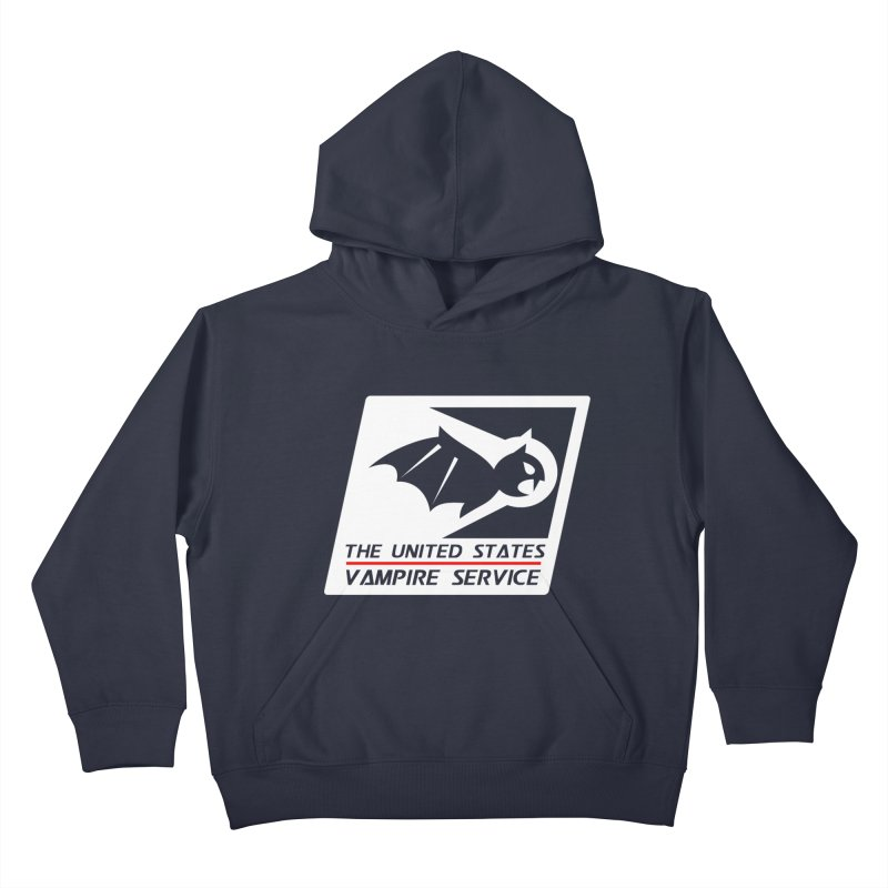 USVS Logo Kids Pullover Hoody by The United States Vampire Service Shop