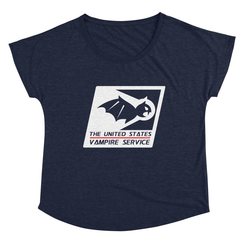 USVS Logo Women's Scoop Neck by The United States Vampire Service Shop