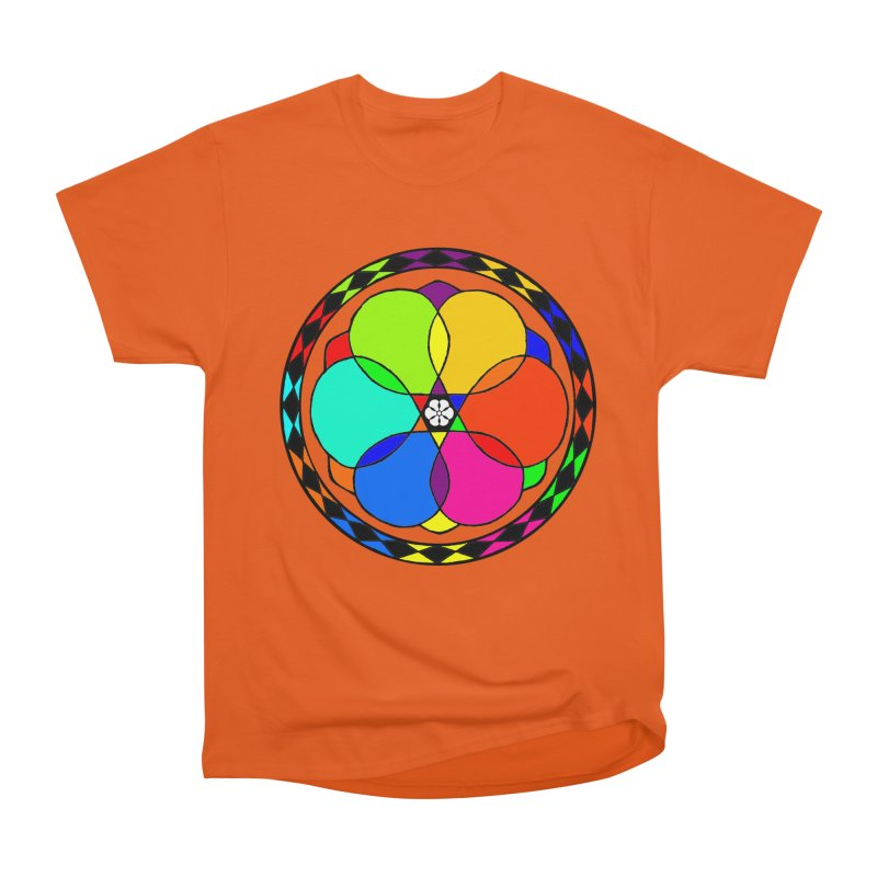 UGOVI Max - Transparent in Women's Heavyweight Unisex T-Shirt Orange Poppy by Ugovi Artist Shop