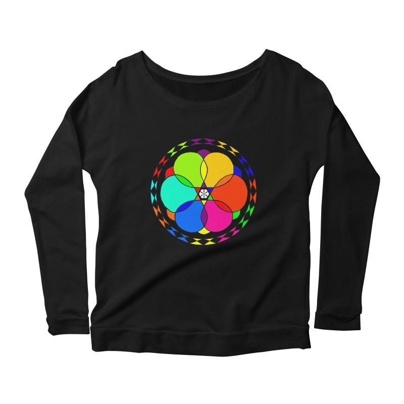UGOVI Max - Transparent Women's Scoop Neck Longsleeve T-Shirt by Ugovi Artist Shop