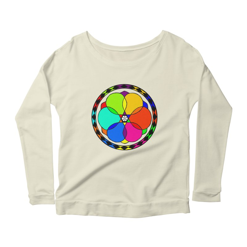 UGOVI Max - Transparent Women's Scoop Neck Longsleeve T-Shirt by Ugovi Artist Shop
