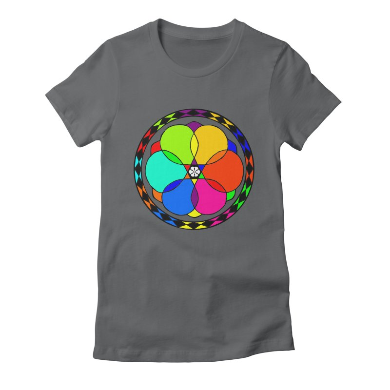 UGOVI Max - Transparent Women's Fitted T-Shirt by Ugovi Artist Shop