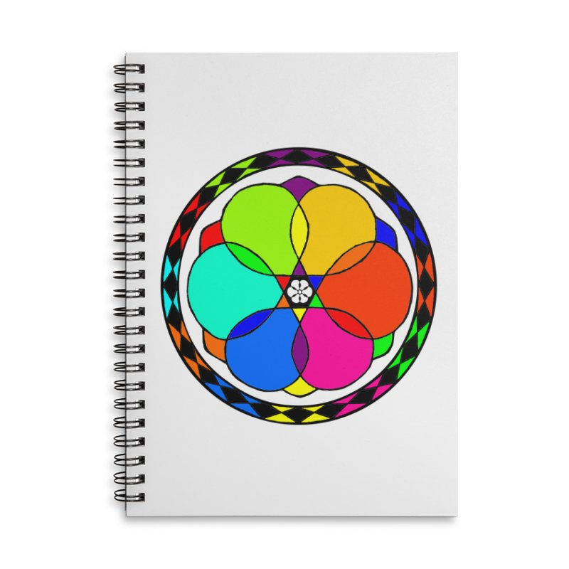 UGOVI Max - Transparent Accessories Lined Spiral Notebook by Ugovi Artist Shop