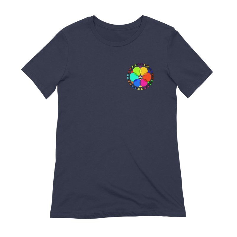 UGOVI - Heart Position - Transparent Women's Extra Soft T-Shirt by Ugovi Artist Shop