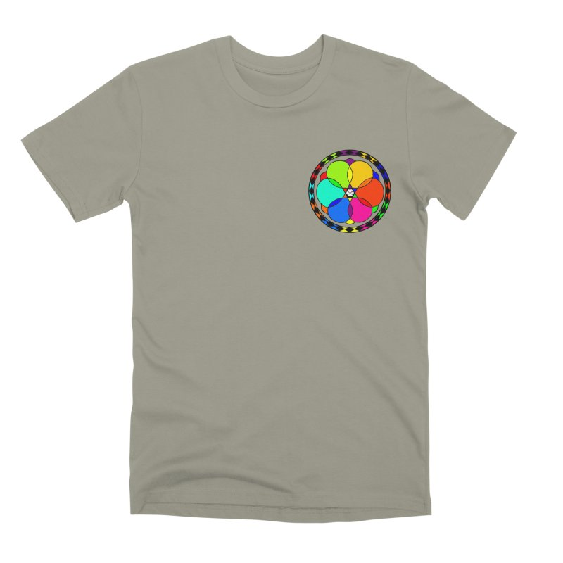 UGOVI - Heart Position - Transparent Men's Premium T-Shirt by Ugovi Artist Shop
