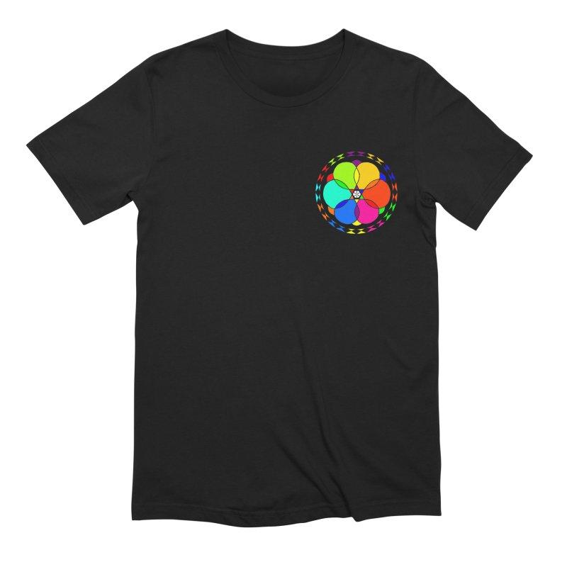 UGOVI - Heart Position - Transparent Men's Extra Soft T-Shirt by Ugovi Artist Shop