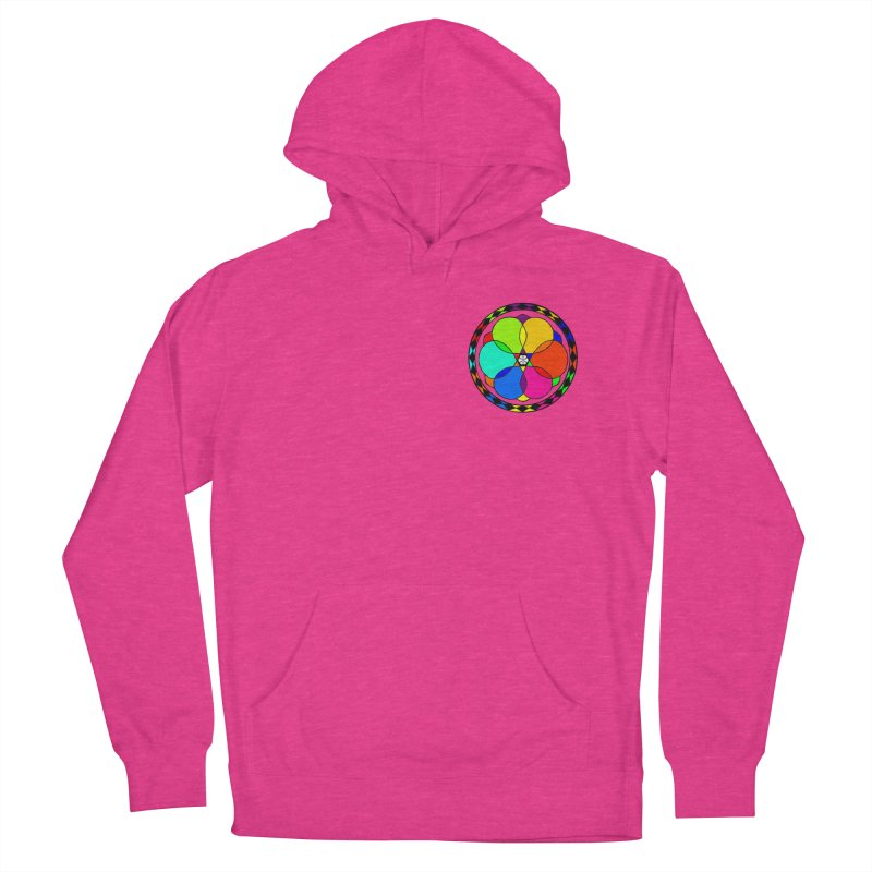 UGOVI - Heart Position - Transparent Women's French Terry Pullover Hoody by Ugovi Artist Shop