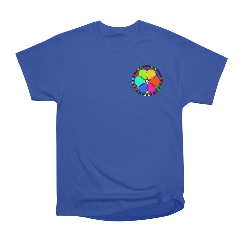 UGOVI - Heart Position - Transparent Women's Heavyweight Unisex T-Shirt by Ugovi Artist Shop