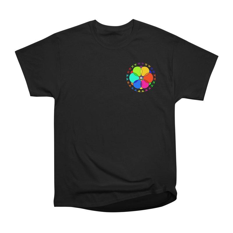 UGOVI - Heart Position - Transparent Men's Heavyweight T-Shirt by Ugovi Artist Shop