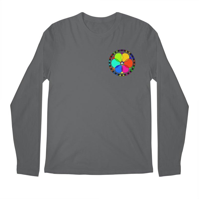 UGOVI - Heart Position - Transparent Men's Regular Longsleeve T-Shirt by Ugovi Artist Shop