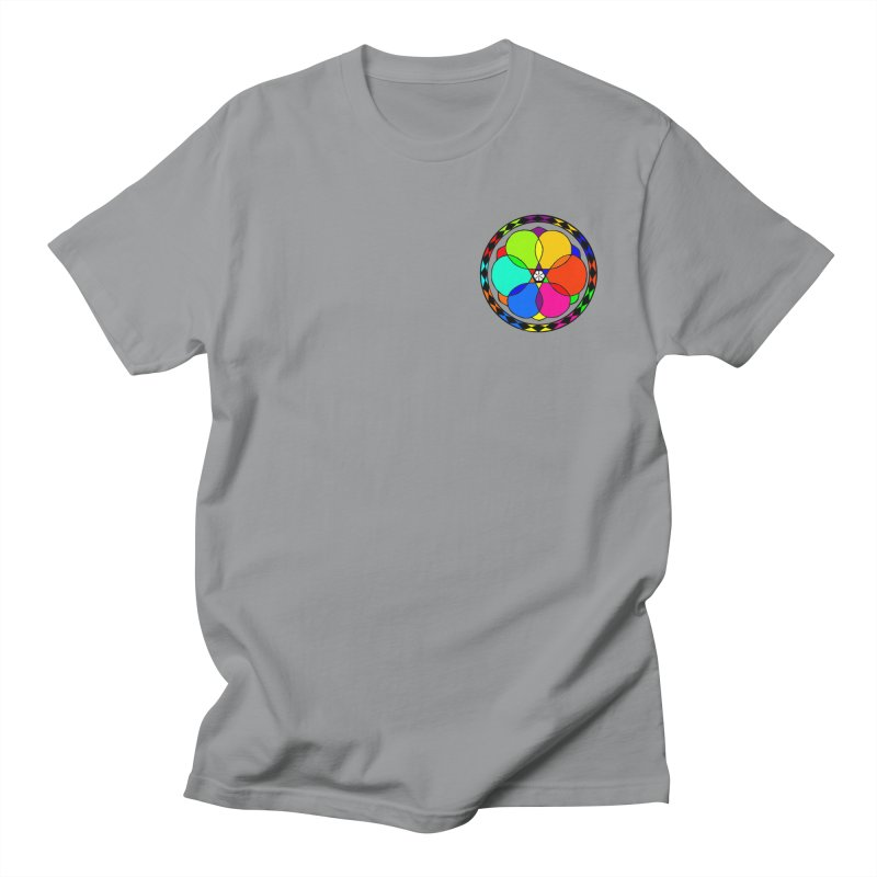 UGOVI - Heart Position - Transparent Men's Regular T-Shirt by Ugovi Artist Shop