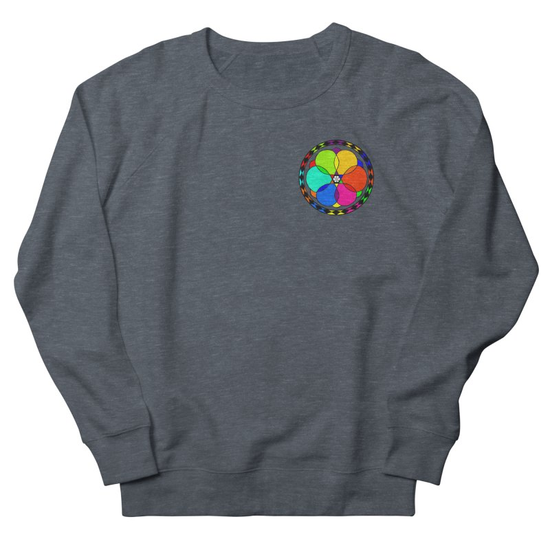UGOVI - Heart Position - Transparent Women's French Terry Sweatshirt by Ugovi Artist Shop