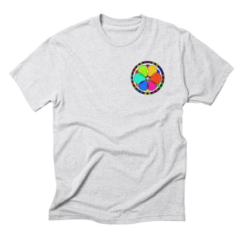 UGOVI - Heart Position - Transparent Men's Triblend T-Shirt by Ugovi Artist Shop