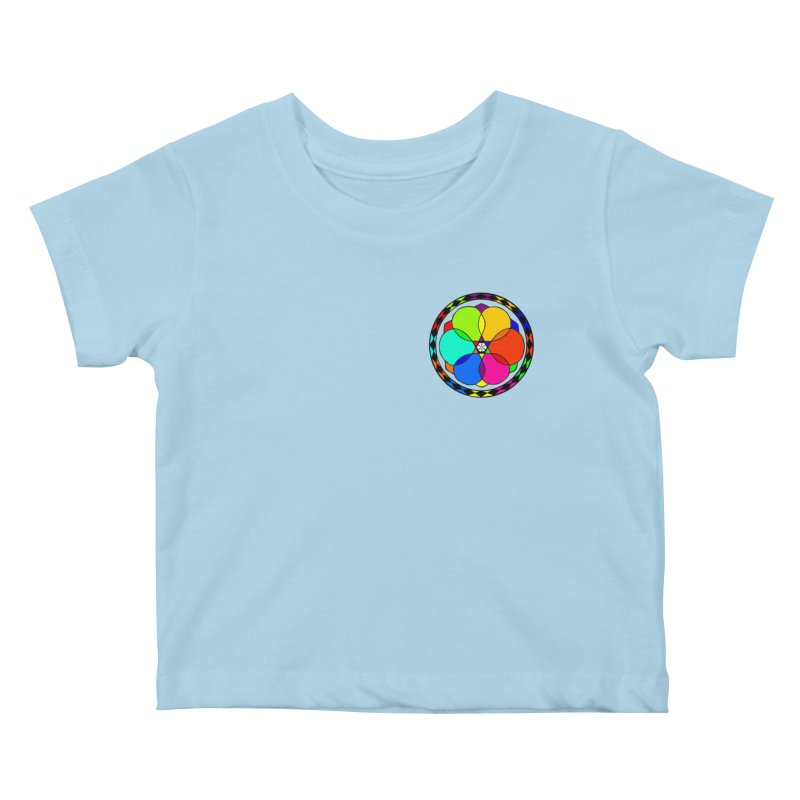 UGOVI - Heart Position - Transparent Kids Baby T-Shirt by Ugovi Artist Shop