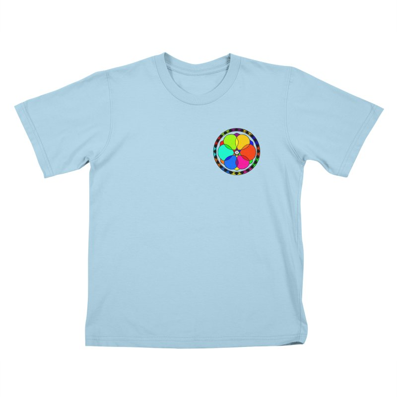 UGOVI - Heart Position - Transparent Kids T-Shirt by Ugovi Artist Shop
